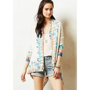 NWT ANTHRO GUINVERE OPEN FACE CARDIGAN